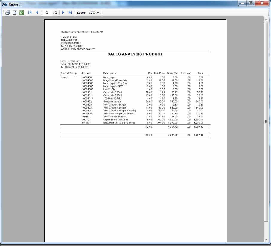 Alpha Retail APOS Reports_Sales Analysis