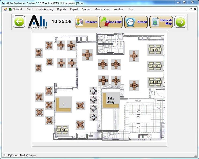 Alphalab Technology Alpharestaurant
