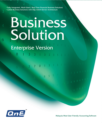 QnE Business Solutions - Enterprise Version